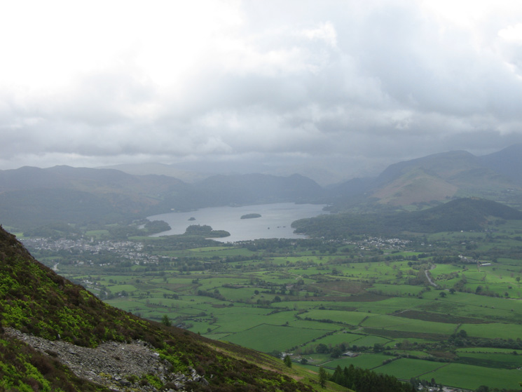 Derwent Water from the White Stones path