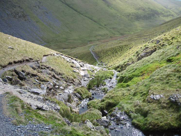 The path up by Scales Beck