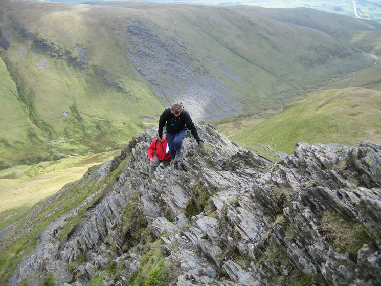 On the first part of Sharp Edge