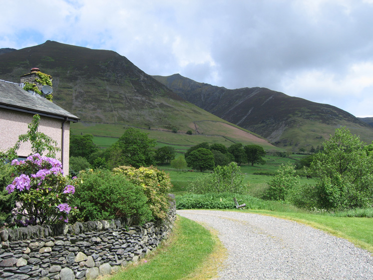 ...and again from the edge of Threlkeld