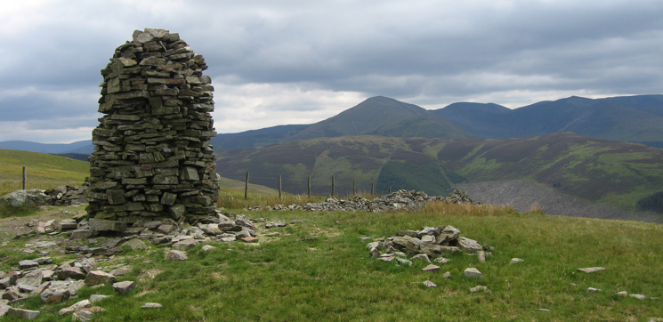 Broom Fell summit cairn