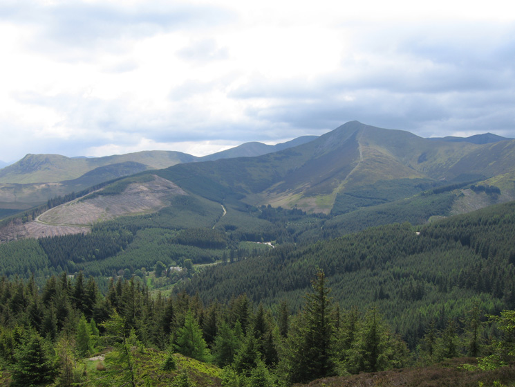 ...another shot of Causey Pike and Grisedale Pike