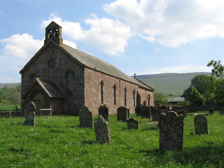 St Lawrence church, Kirkland