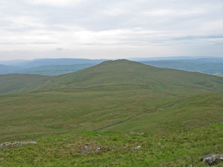 Whinfell Beacon from Castle Fell's summit