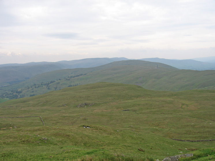 ...and Grayrigg Forest, the highest top on the ridge