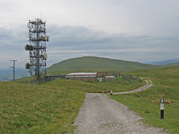 Part of the Telcom Repeater Station with Whinfell Beacon behind