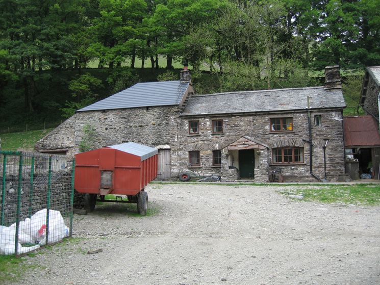 Low Borrowdale Farm, currently up for sale