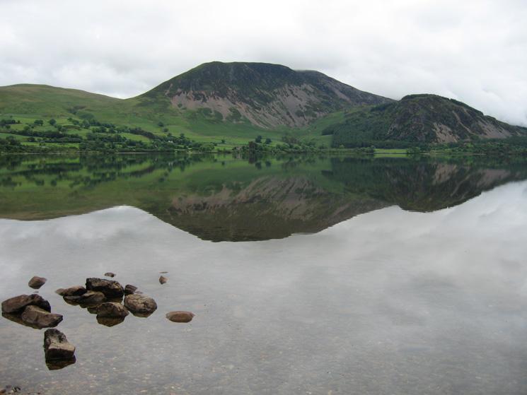 Looking across Ennerdale Water to Herdus