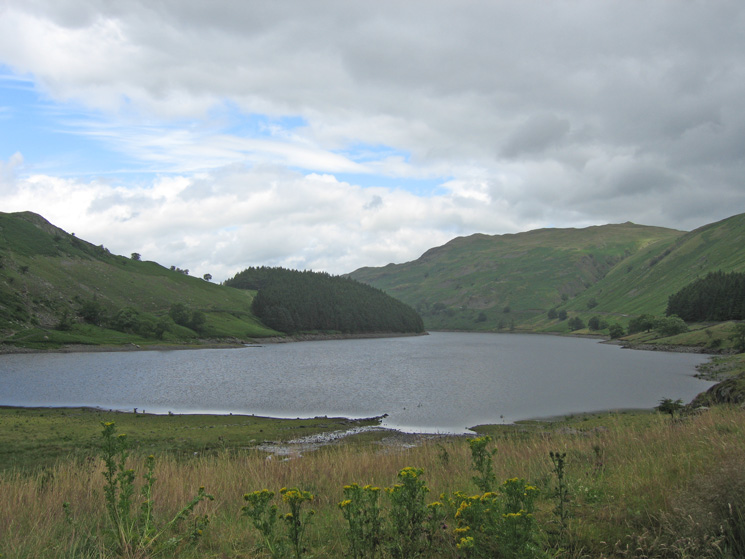 Haweswater from the car park at Mardale Head