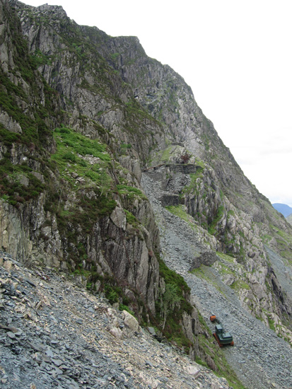 Honister Crag, we are going up there!