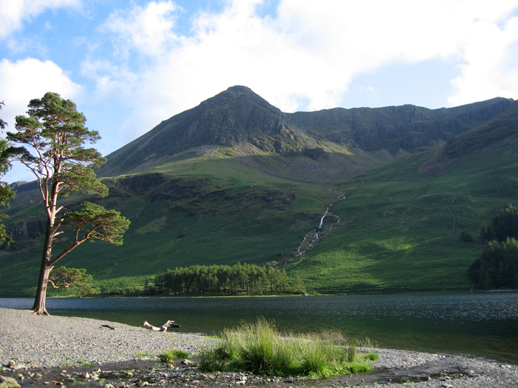 High Crag across Buttermere