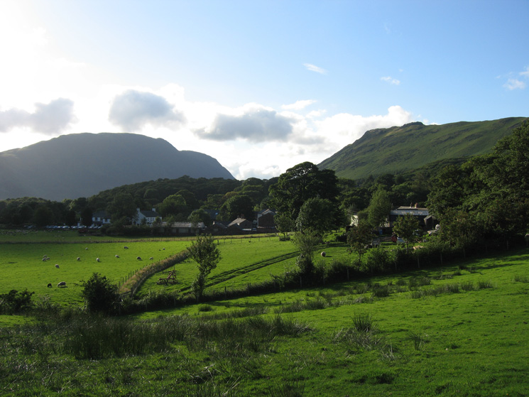 Almost back at Buttermere village