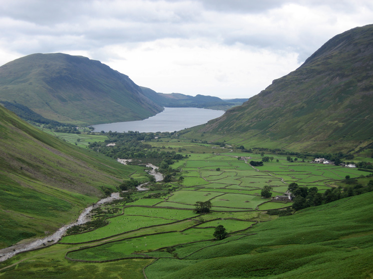 Wasdale Head from Gavel Neese