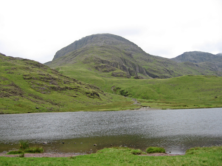 Great End from Styhead Tarn