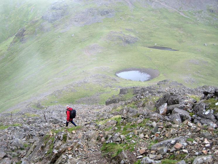 Descending to Beck Head