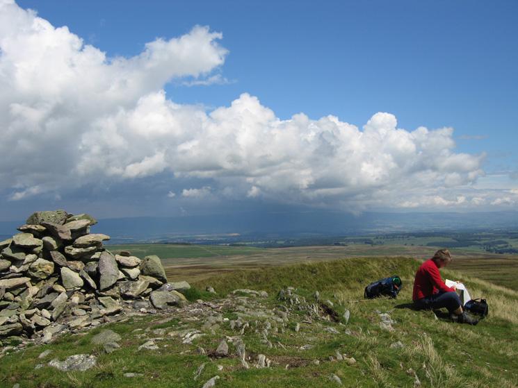 Arthur's Pike's summit