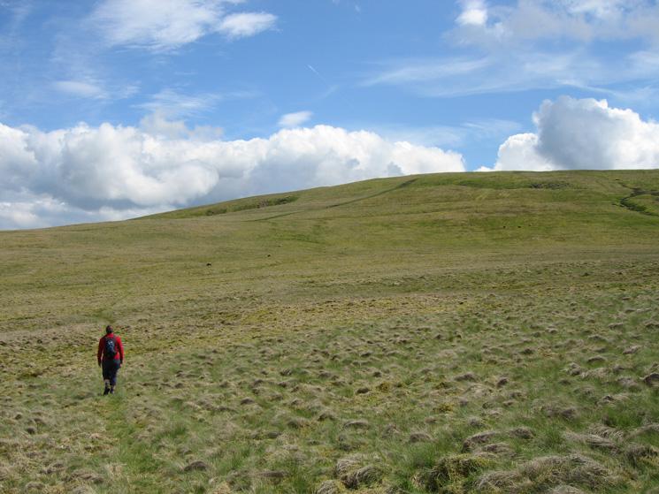Heading for Loadpot Hill