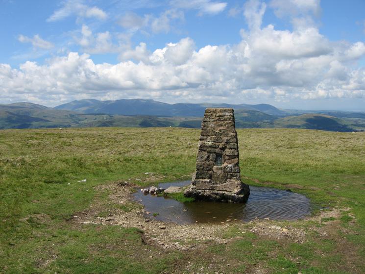 Loadpot Hill's summit trig point