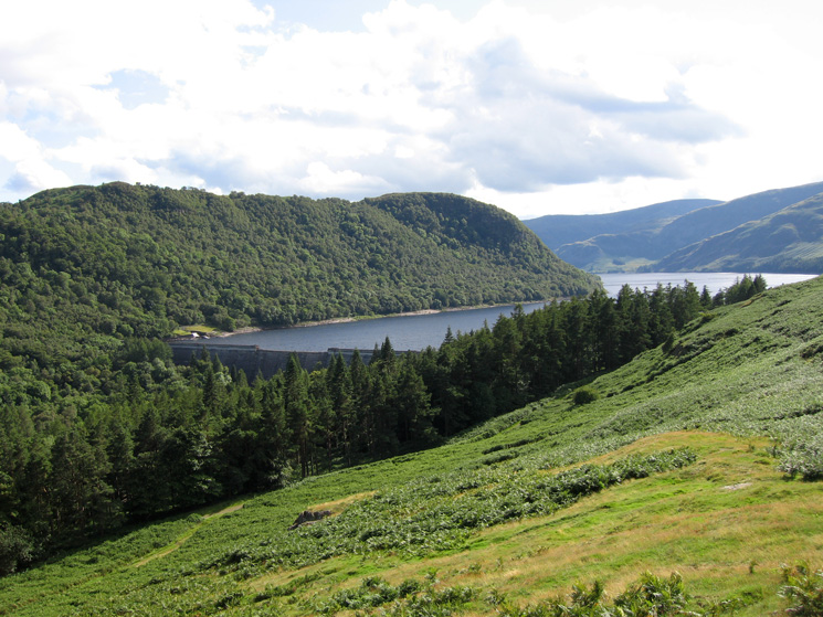 Haweswater Dam from above Burnbanks
