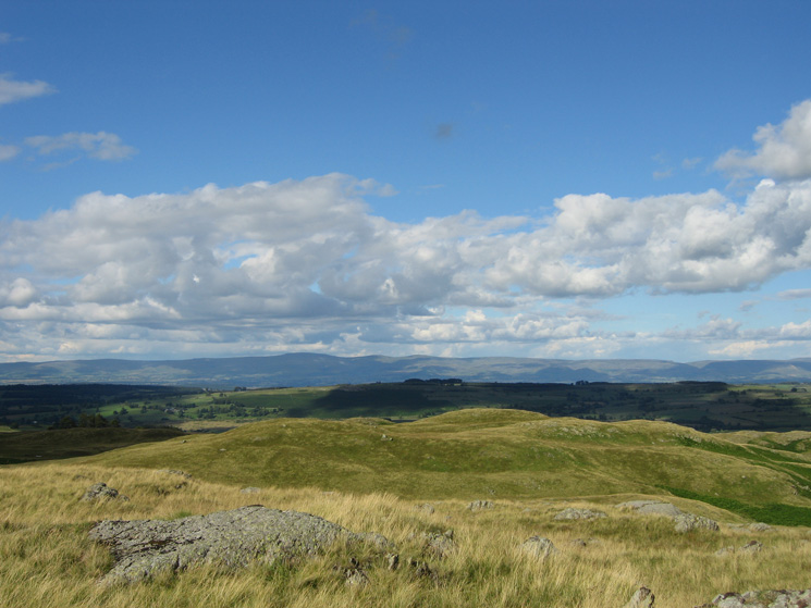 The North Pennines from Four Stones Hill summit