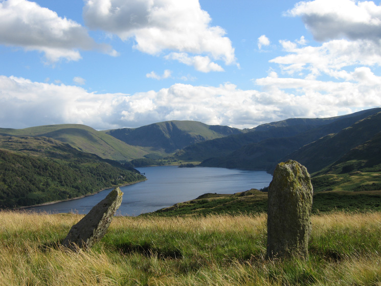 Haweswater from the two standing stones