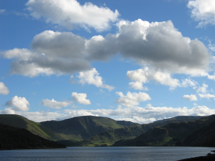 Looking up Haweswater to Harter Fell