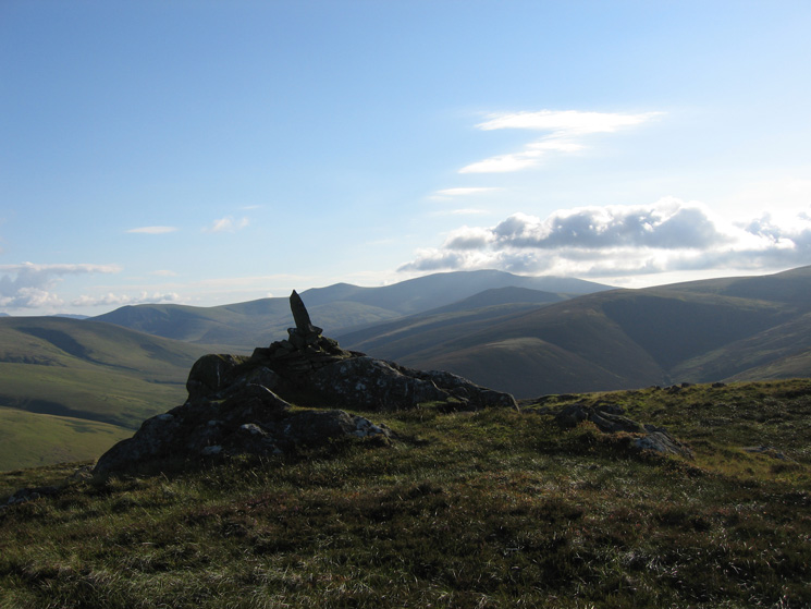 Looking towards Skiddaw from Round Knott