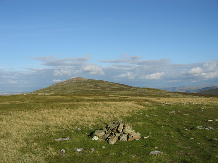 Carrock Fell from the summit of Miton Hill