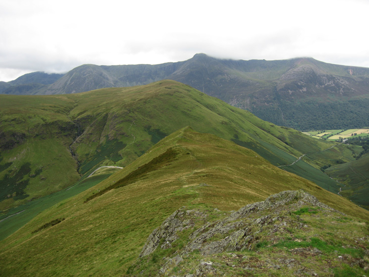 High Snockrigg with the High Stile ridge behind