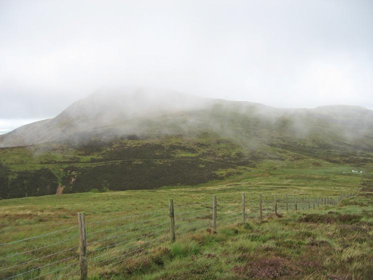 Blake Fell in the cloud
