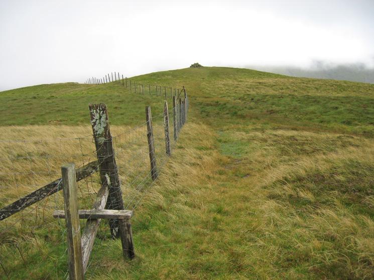 Gavel Fell's summit