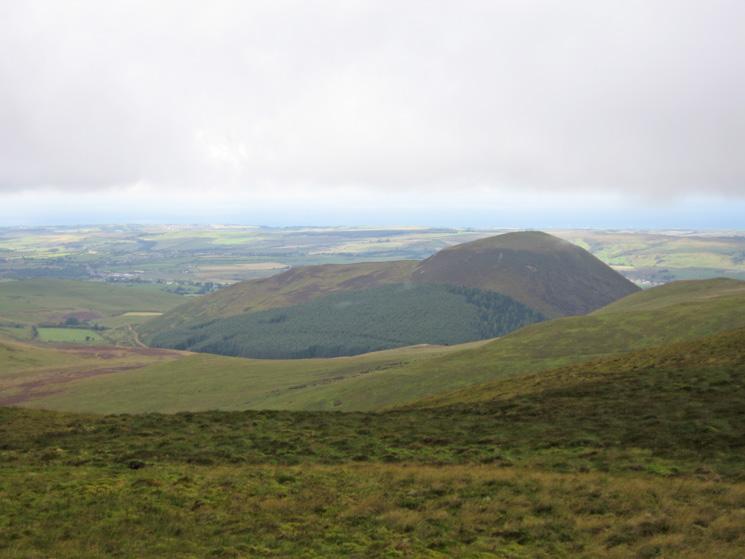 Knock Murton from Gavel Fell's summit