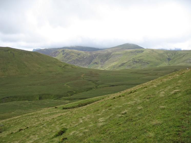 Whiteoak Common from the slopes of Gavel Fell