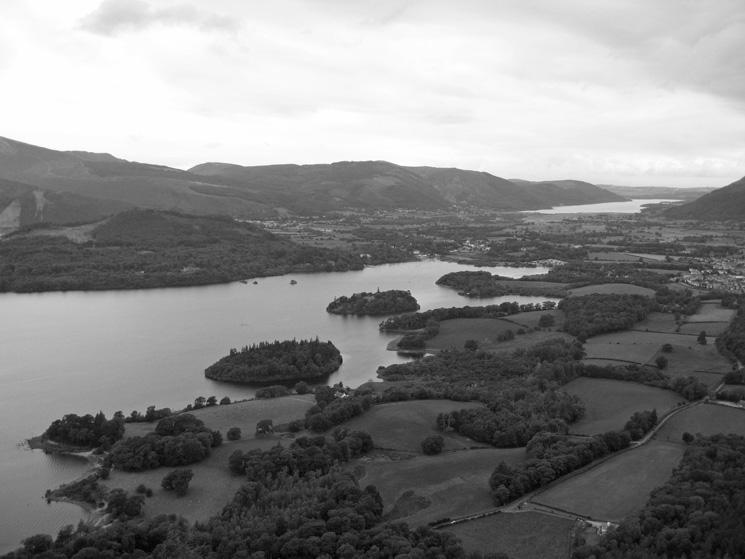 Derwent Water with Bassenthwaite Lake beyond