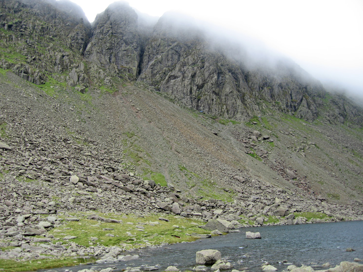 Dow Crag from Goat's Water