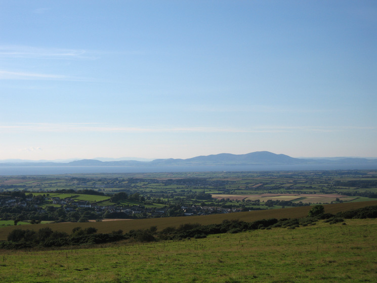 Criffel from the ridge