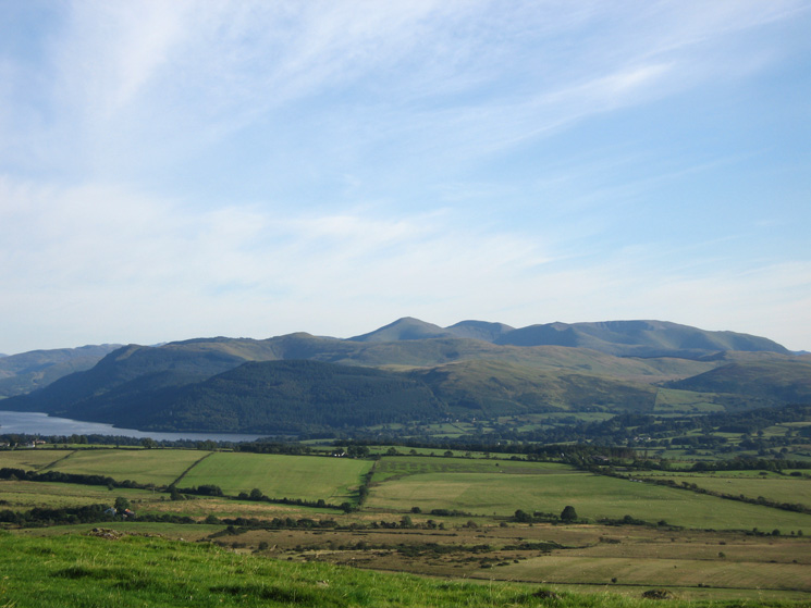 Zooming in on the north western fells