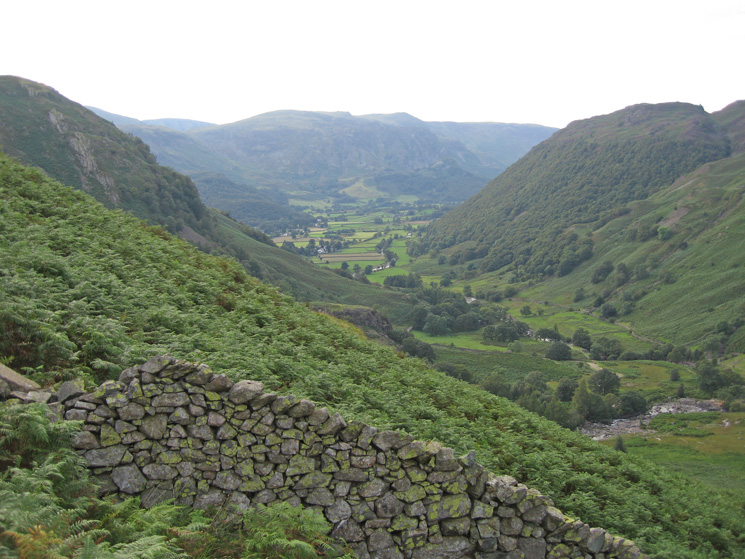 Stonethwaite from the ascent
