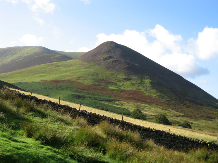 Dodd, to be our last top of today's walk. One of seven Birkett's this walk visits if you are counting