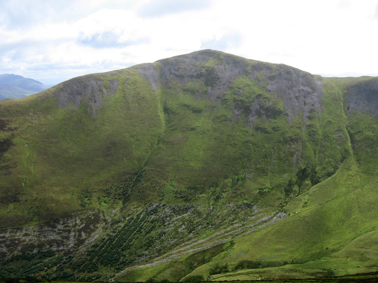 Looking across to Grisedale Pike from Ladyside Pike