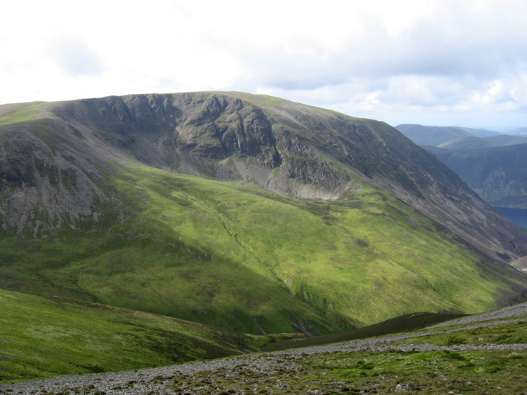 Dove Crags on Grasmoor