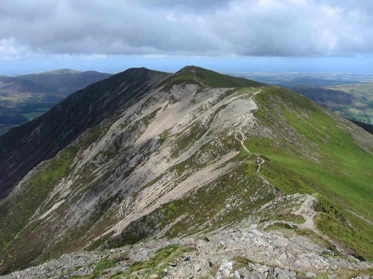 The ridge to Whiteside