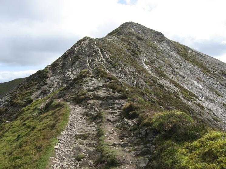 Looking back along the ridge towards Hopegill Head