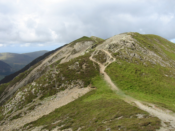 The ridge to Whiteside