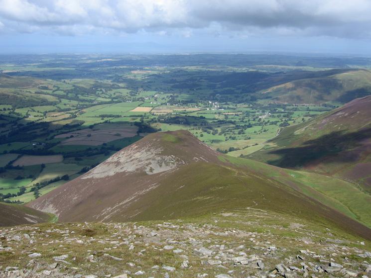 The ridge down to Dodd