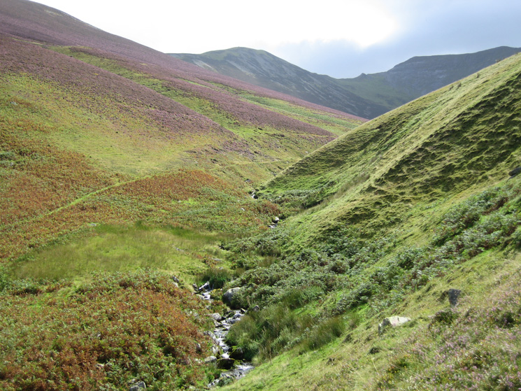 Hope Beck with Ladyside Pike and Hopegill Head on the skyline