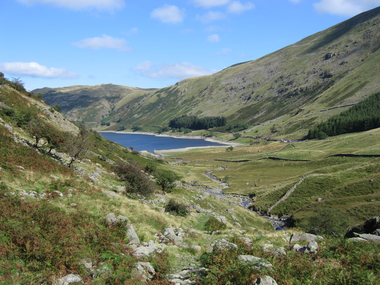 Looking back towards Haweswater and Mardale Head