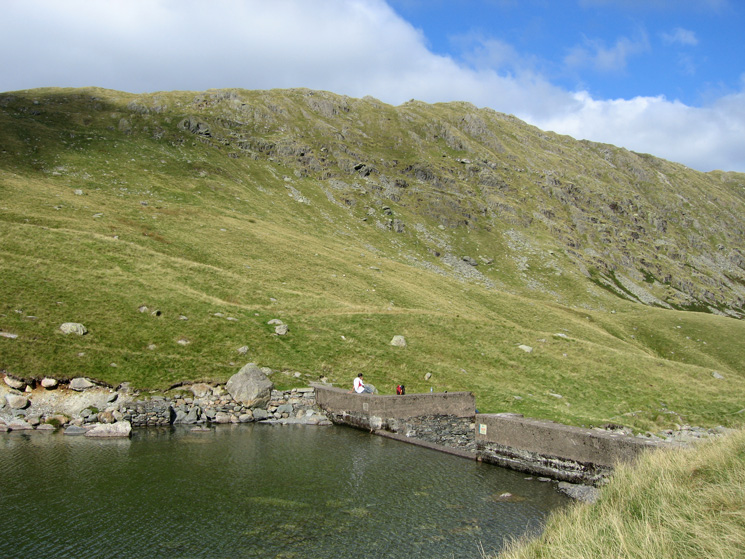 Rough Crag from Blea Water