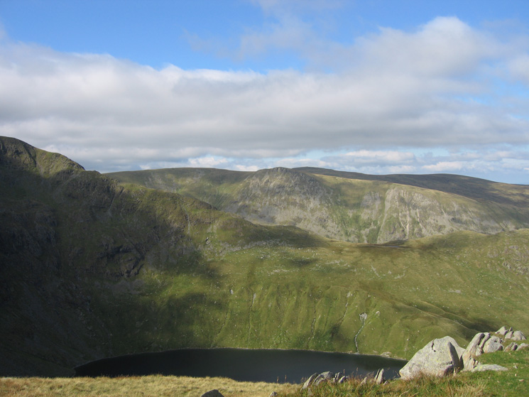 Blea Water, Long Stile, Kidsty Pike and High Raise in the far distance