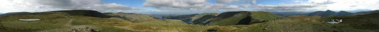 360 Panorama from Mardale Ill Bell's summit